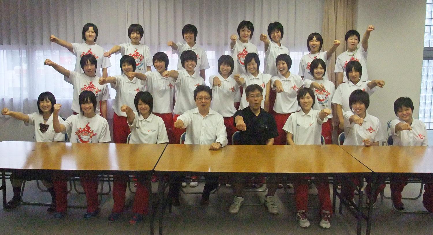 201109_豊川高校女子バレーボール部