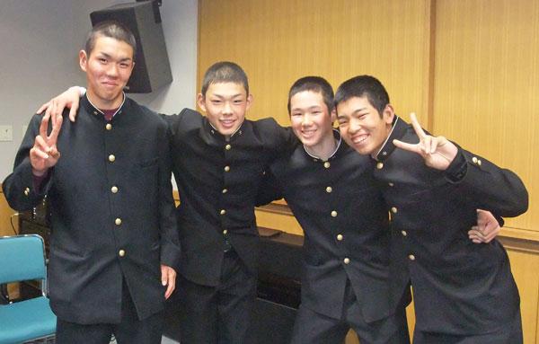 201204_観音寺第一高校硬式野球部