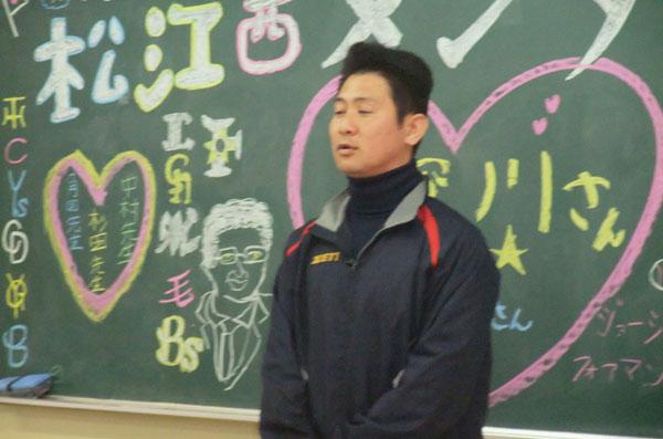 201205_松江西高校硬式野球部