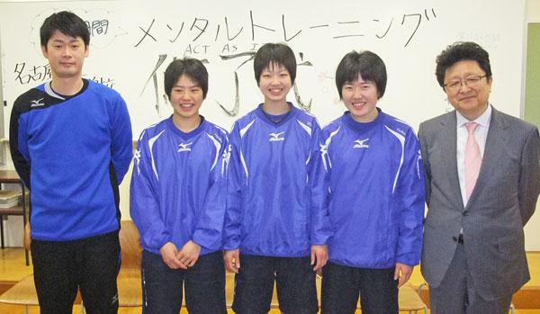 201306_市立名古屋商業高等学校 バレーボール部