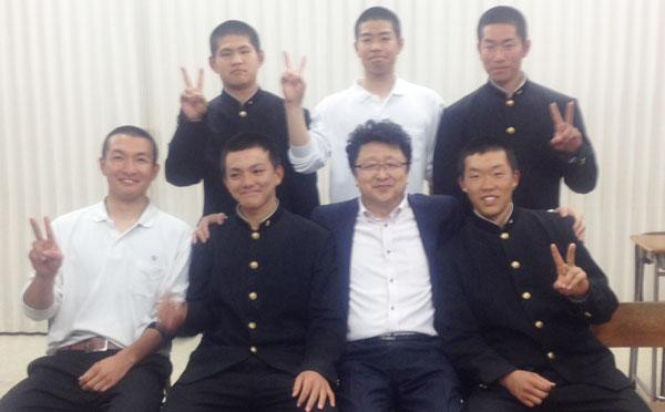 201307_広島県立広島工業高等学校硬式野球部3年生のアドバンスコース