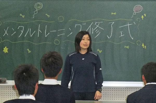201307_倉敷翠松高等学校 バドミントン部