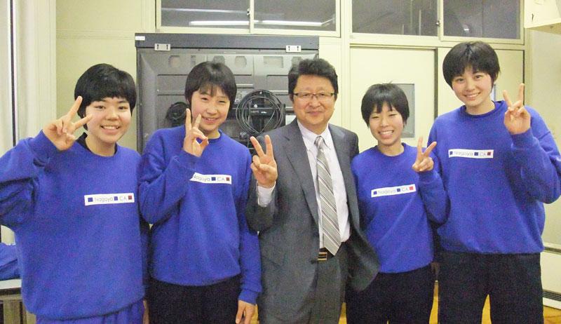 20146_名古屋商業高等学校 バレーボール部