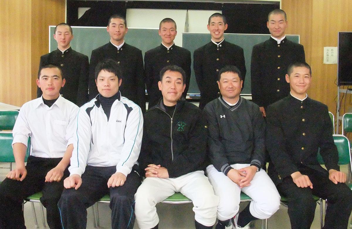 201508_長岡大手高等学校 硬式野球部