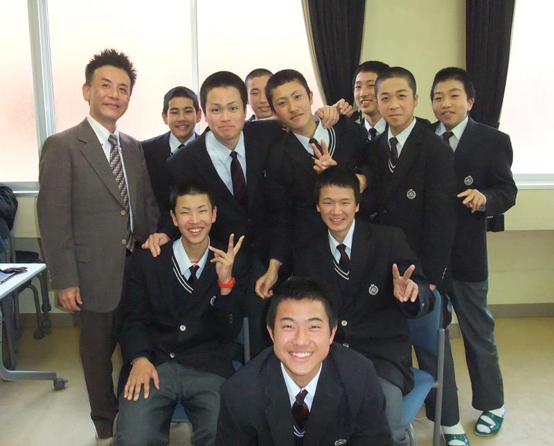 201105_松江西高校硬式野球部