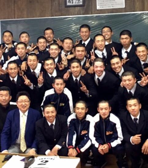 市川高等学校 硬式野球部 2015年度