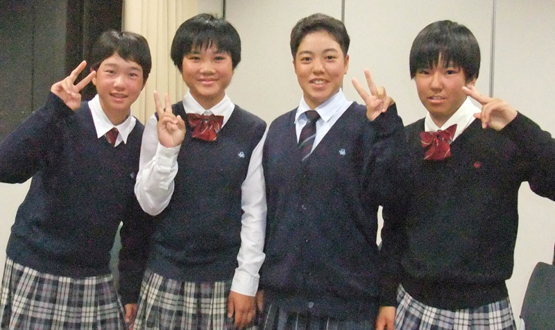 2016 メンタルトレーニング受講  四條畷学園高等学校 ソフトボール部
