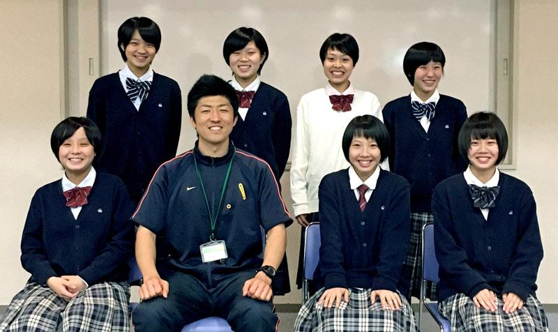 2016 四條畷学園高等学校 バスケットボール部 アドバンスコース受講生