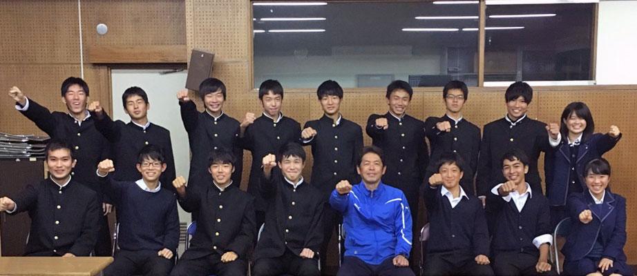 千種高等学校 サッカー部 メンタルトレーニング受講