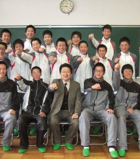 甲西高校 ソフトテニス部 2008年度