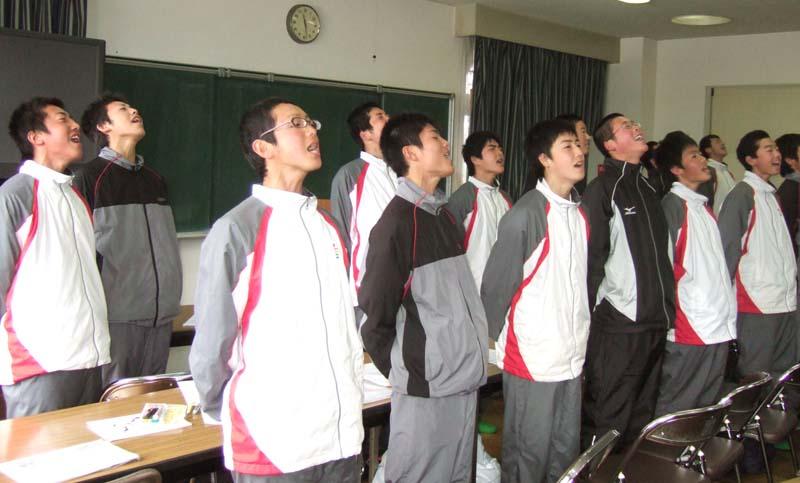 メントレ:甲西高校 ソフトテニス部 2008