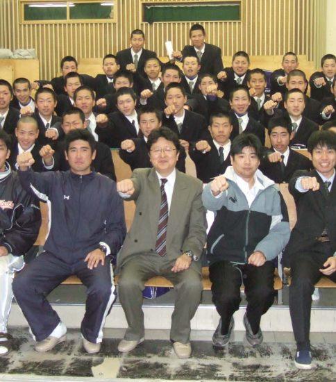鳥取工業高校 硬式野球部 2008年度