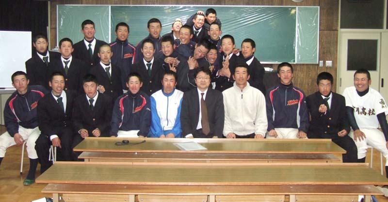 市川高校 硬式野球部 2008