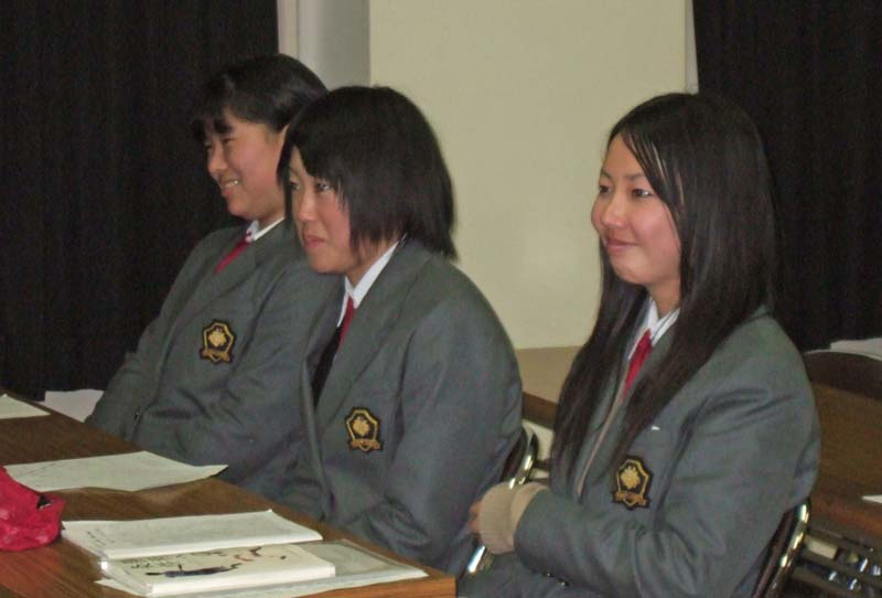 メントレ受講:津山東高校 硬式野球部 2008