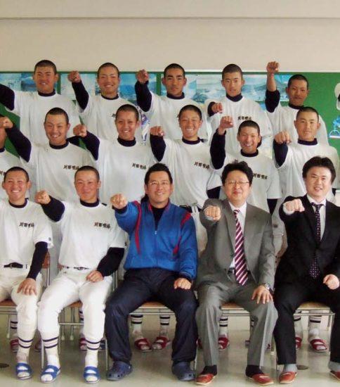 川西明峰高校 硬式野球部 2008年度
