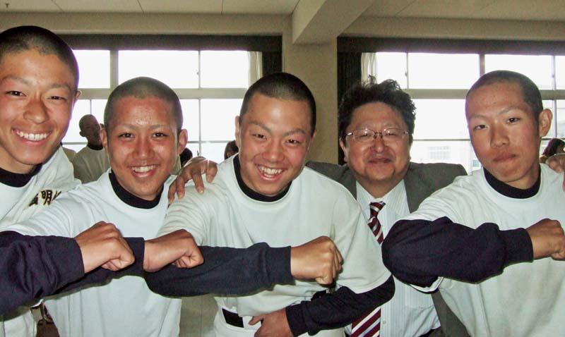 川西明峰高校 硬式野球部 2008