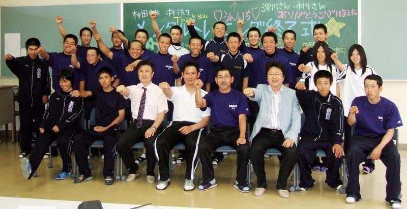 松江西高校 硬式野球部 2008