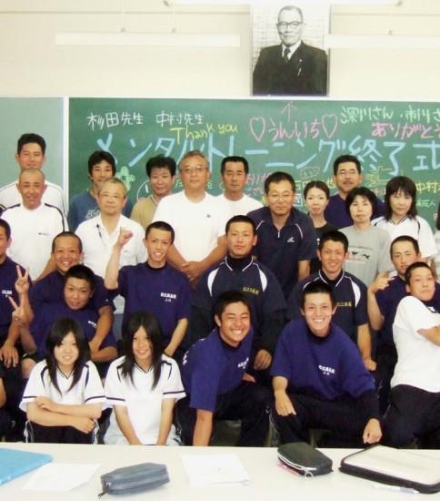 松江西高校硬式野球部 2008年度