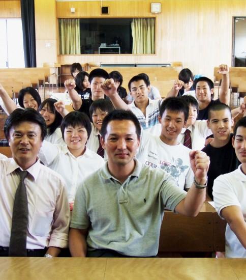桃山高校 柔道部 2008年度