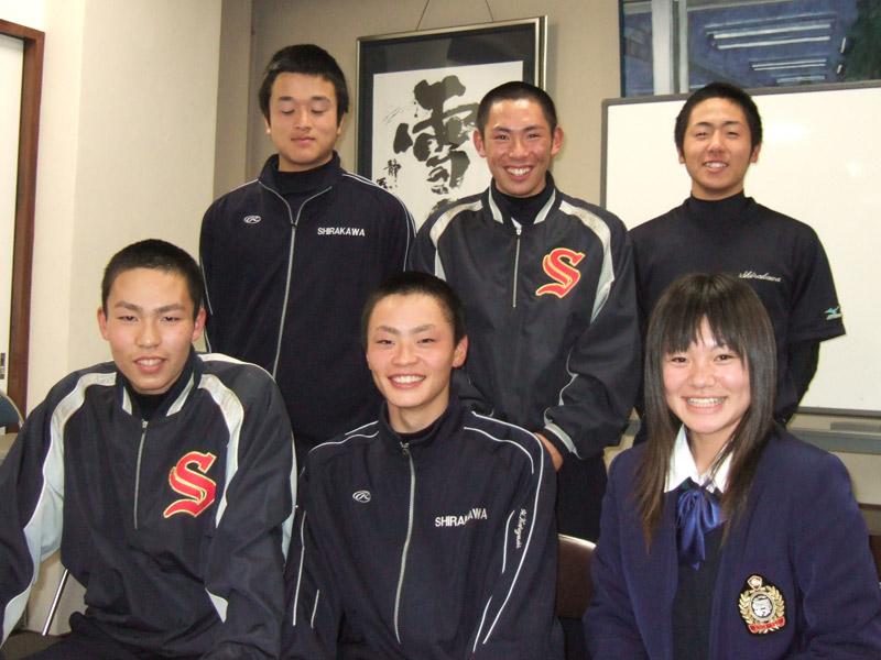 白河高校硬式野球部2008
