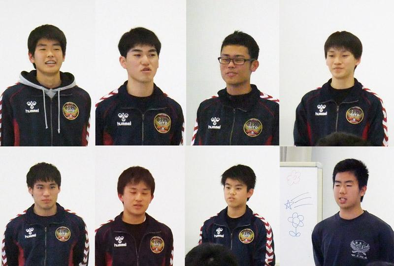 岐阜東高等学校 ハンドボール部 2018