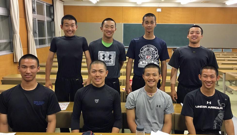 高陽東高等学校 硬式野球部2,3年生 セレクトコース受講生の声