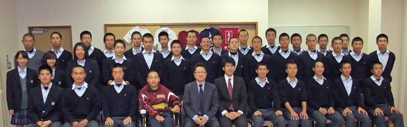 メンタルトレーニング受講:伊香高等学校 硬式野球部