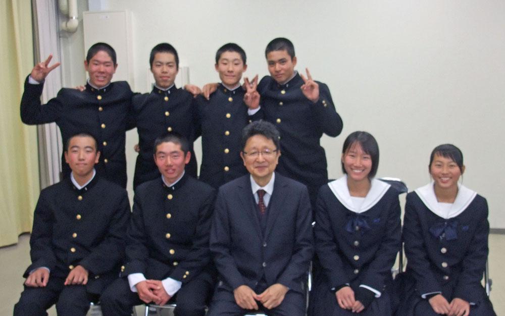 姫路工業高等学校野球部2019年度メントレ受講